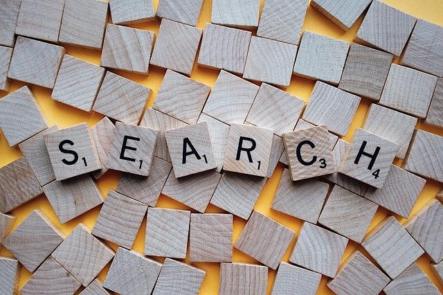 slovo vyhledávání