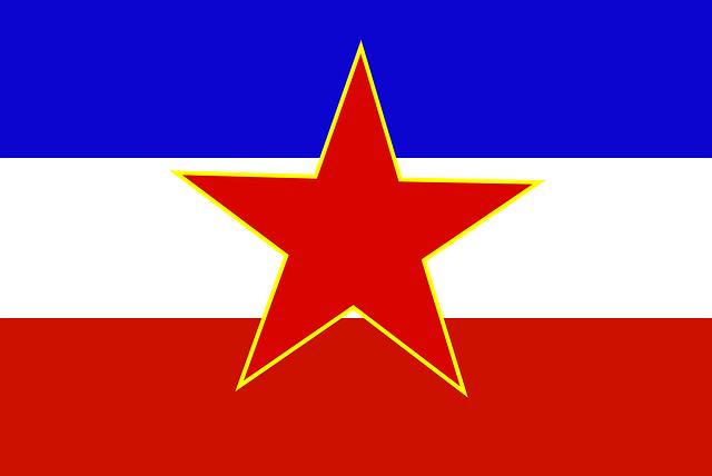 vlajka Yugoslavie