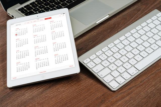 plánování kalendáře