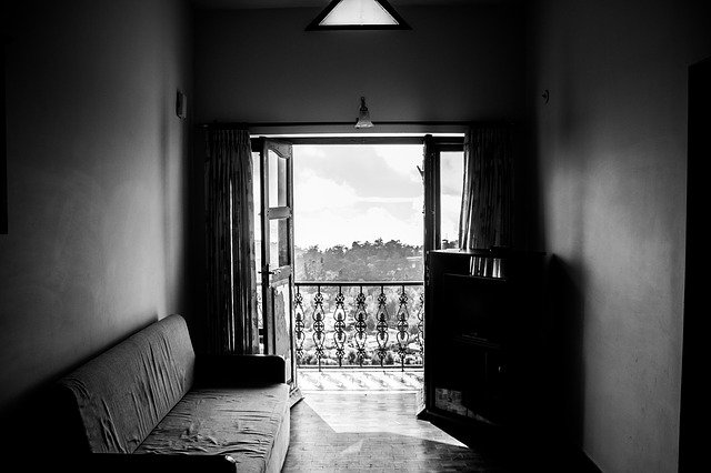 větrání místnosti