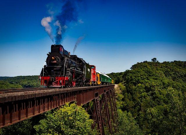 cestování vlakem